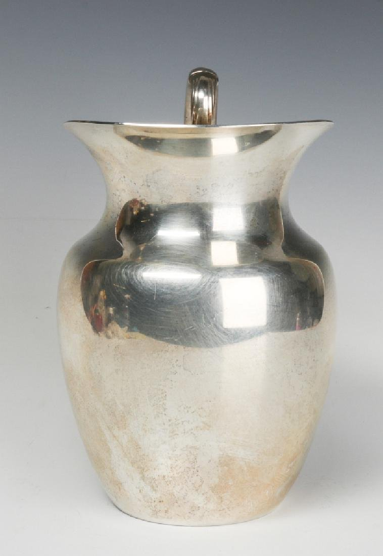 A LATE 20TH CENT AMERICAN STERLING WATER PITCHER - 2