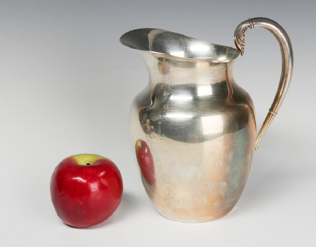 A LATE 20TH CENT AMERICAN STERLING WATER PITCHER - 5
