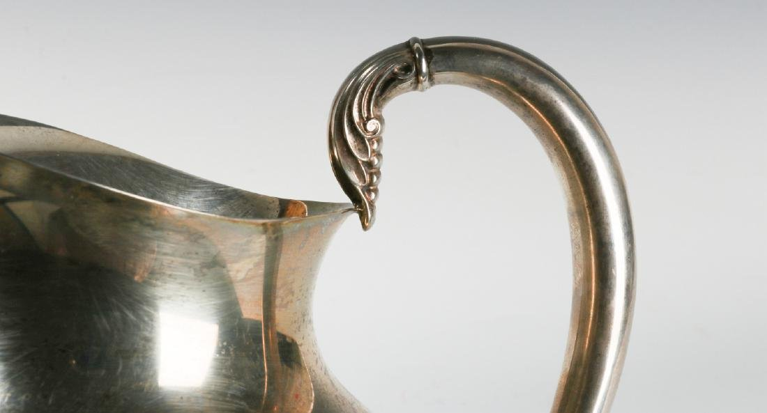 A LATE 20TH CENT AMERICAN STERLING WATER PITCHER - 6