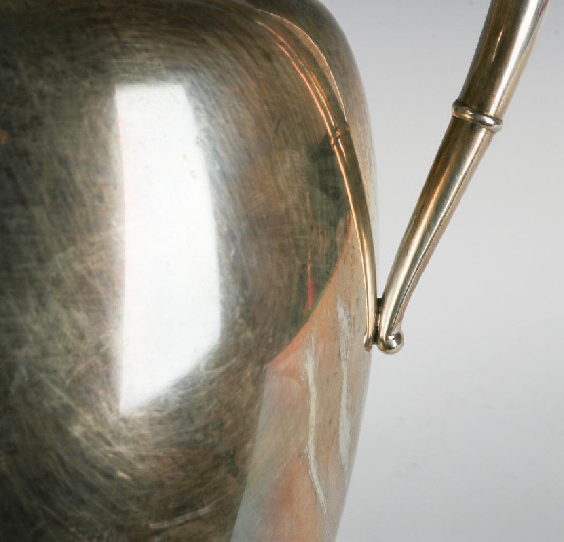 A LATE 20TH CENT AMERICAN STERLING WATER PITCHER - 7
