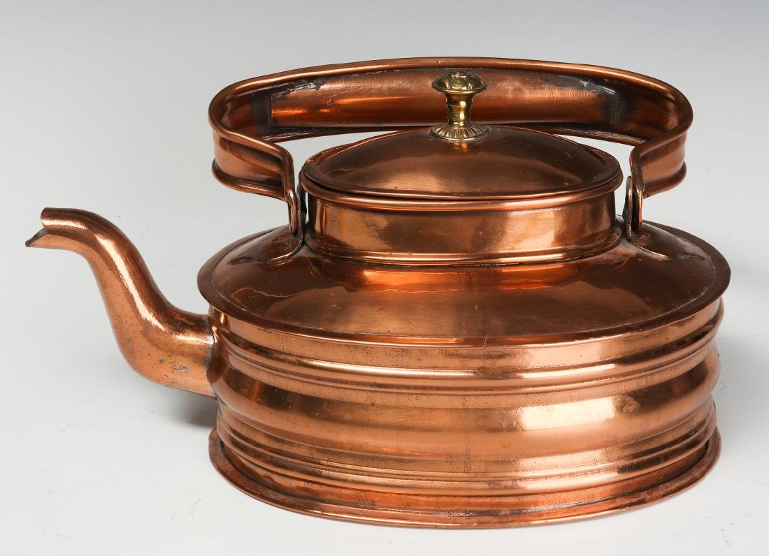 A COLLECTION OF 19TH CENT COPPER AND BRASS - 10