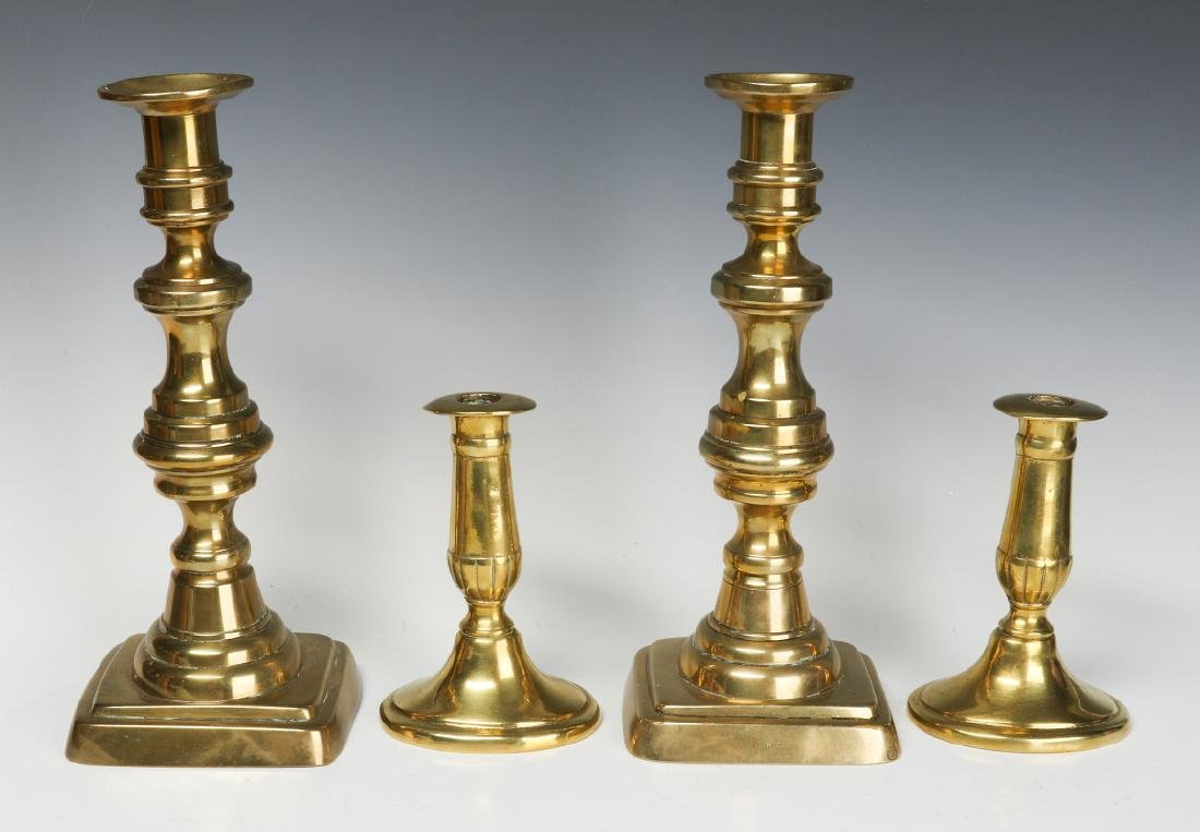 A COLLECTION OF 19TH CENT COPPER AND BRASS - 2