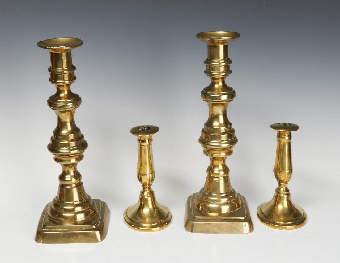 A COLLECTION OF 19TH CENT COPPER AND BRASS - 3