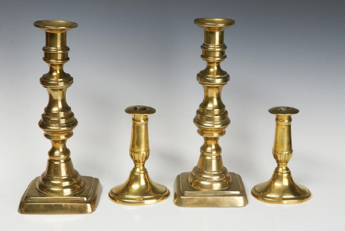 A COLLECTION OF 19TH CENT COPPER AND BRASS - 4