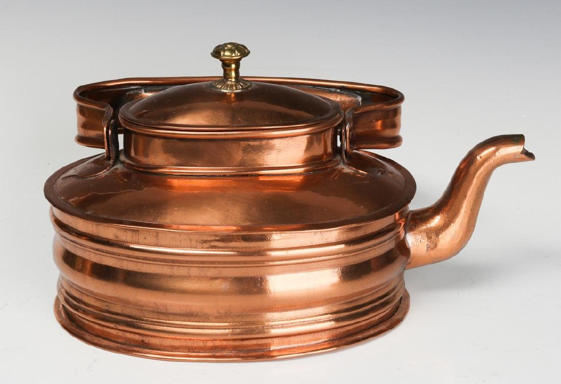 A COLLECTION OF 19TH CENT COPPER AND BRASS - 9