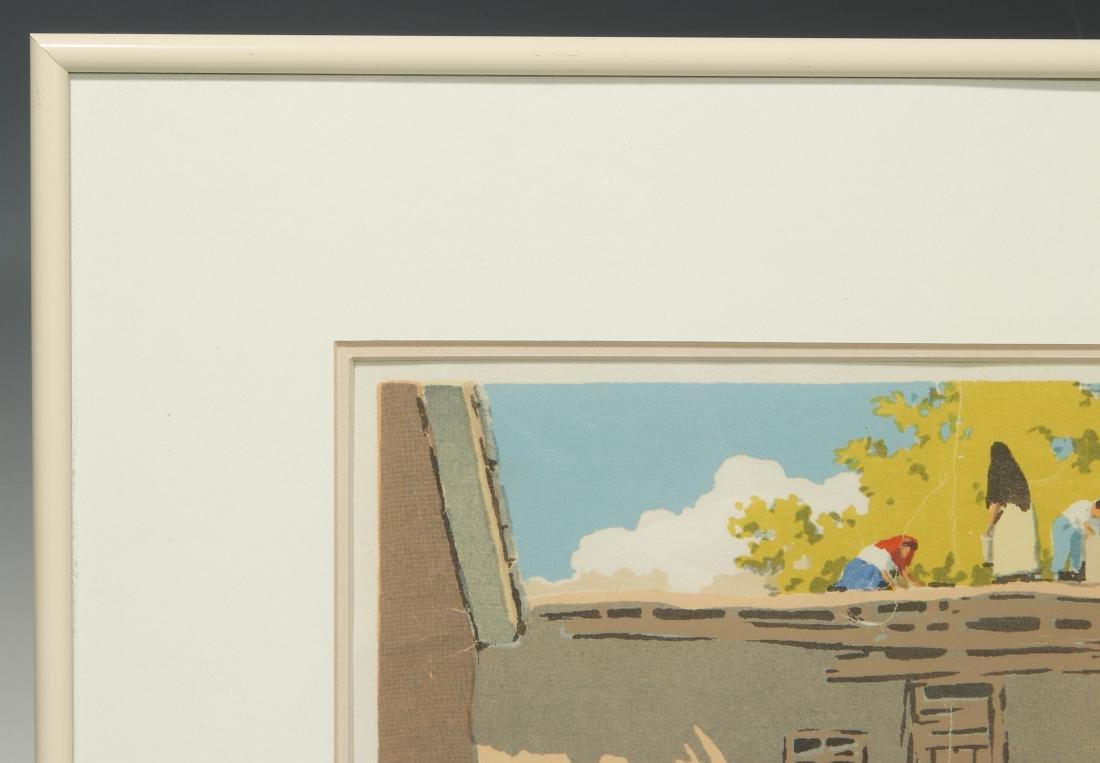 NORMA BASSETT HALL (1890–1957) SIGNED SERIGRAPH - 3