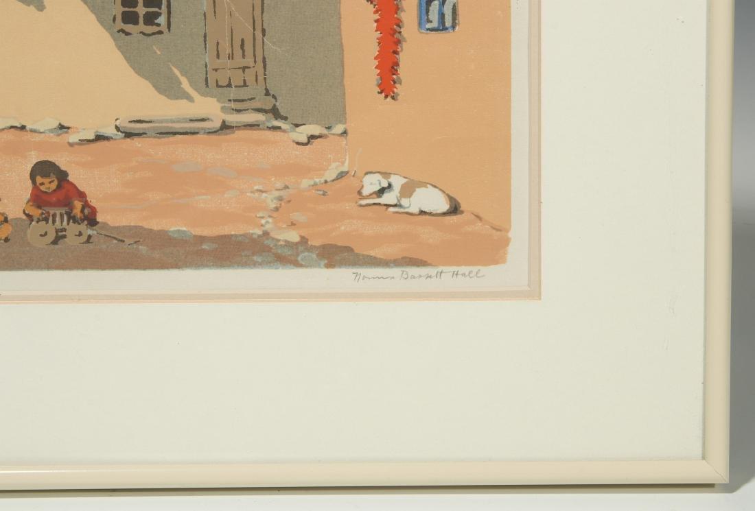 NORMA BASSETT HALL (1890–1957) SIGNED SERIGRAPH - 5