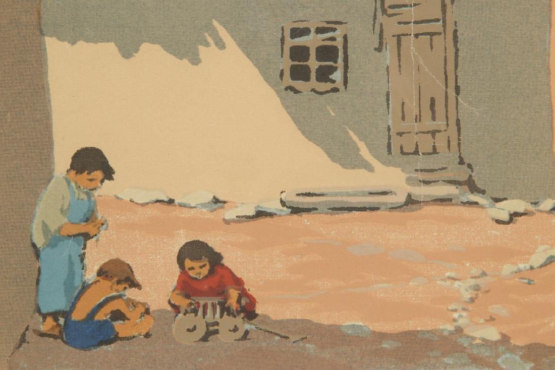 NORMA BASSETT HALL (1890–1957) SIGNED SERIGRAPH - 7