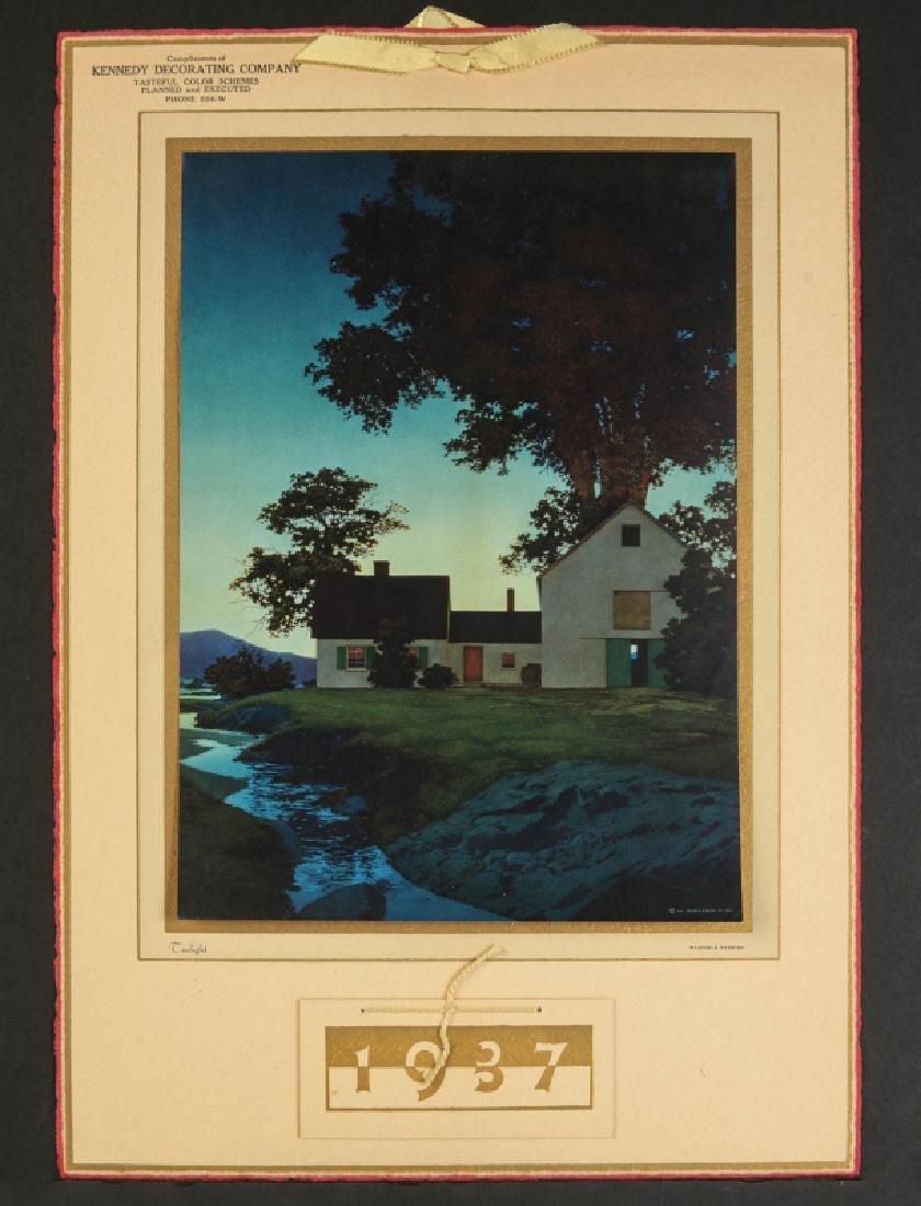 AFTER MAXFIELD PARRISH (1870-1966) CALENDAR - 2