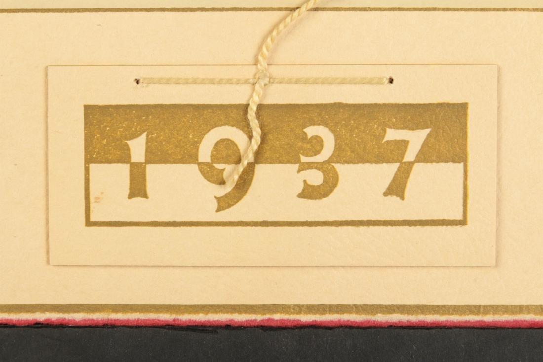 AFTER MAXFIELD PARRISH (1870-1966) CALENDAR - 7