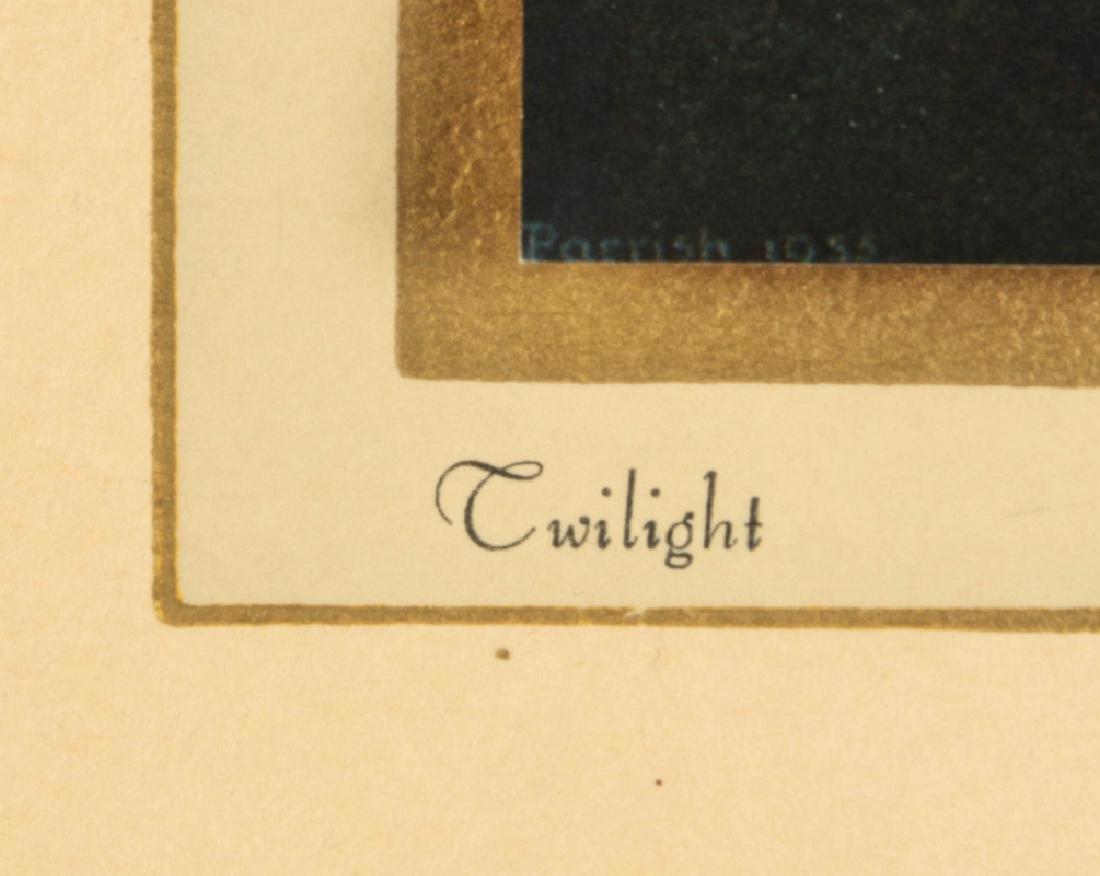AFTER MAXFIELD PARRISH (1870-1966) CALENDAR - 9