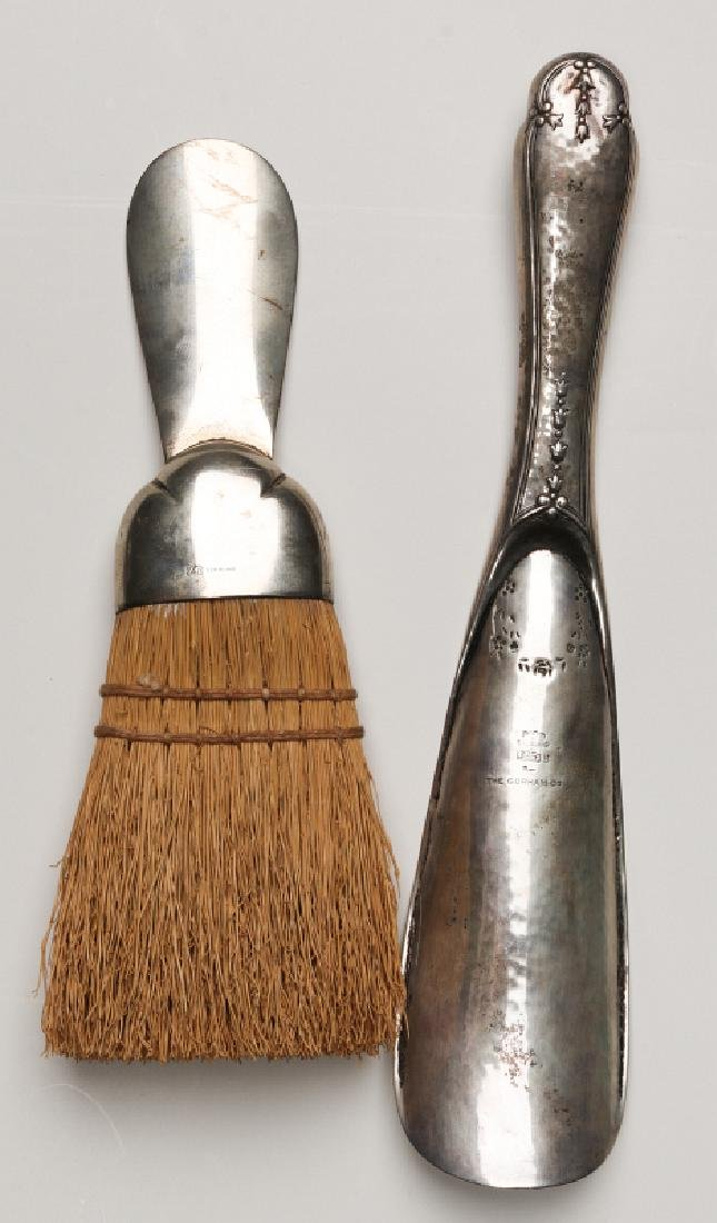 GORHAM AND OTHER STERLING SILVER SHOE HORNS