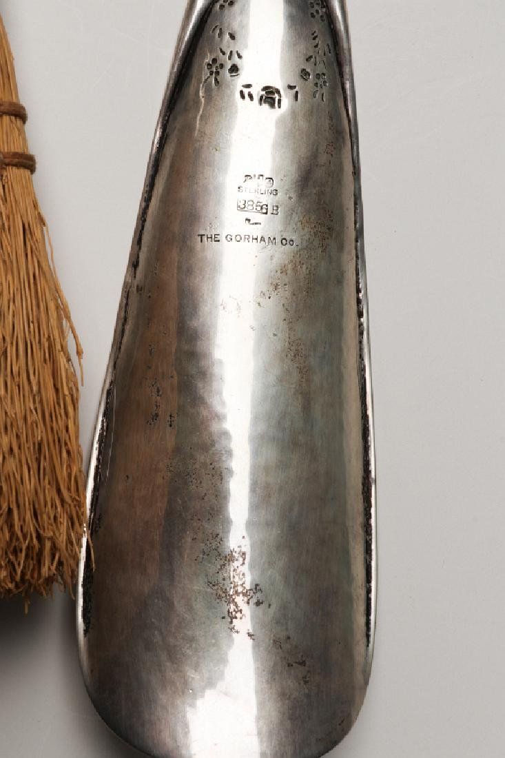 GORHAM AND OTHER STERLING SILVER SHOE HORNS - 2