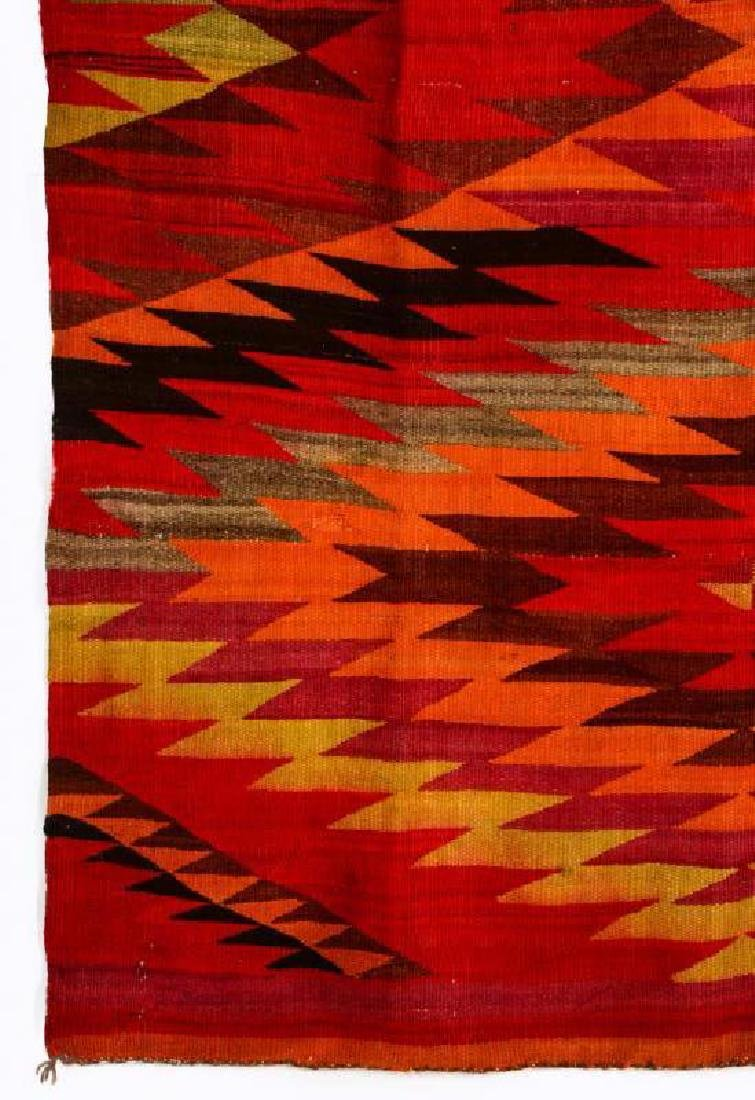 AN EARLY 20TH CENTURY NAVAJO TRANSITIONAL WEAVING - 4