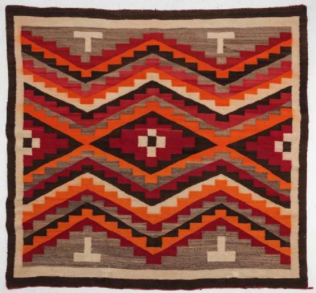 A WESTERN RESERVATION NAVAJO WEAVING