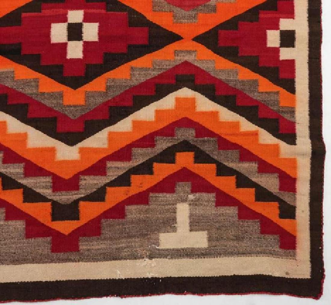 A WESTERN RESERVATION NAVAJO WEAVING - 2