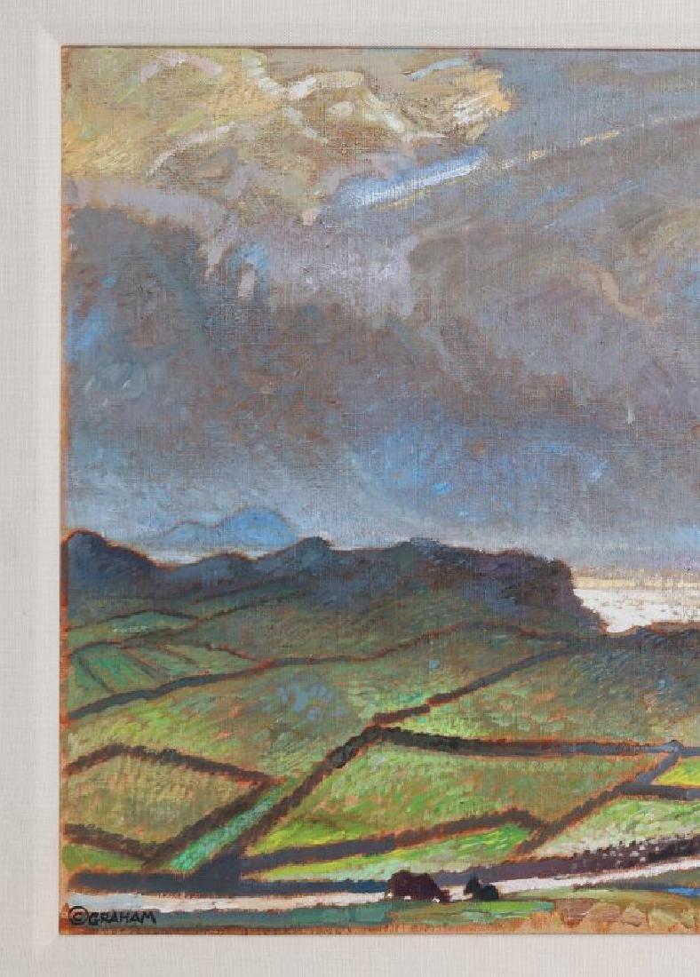 ROBERT MCDONALD GRAHAM (1919 - 2000) ACRYLIC - 3