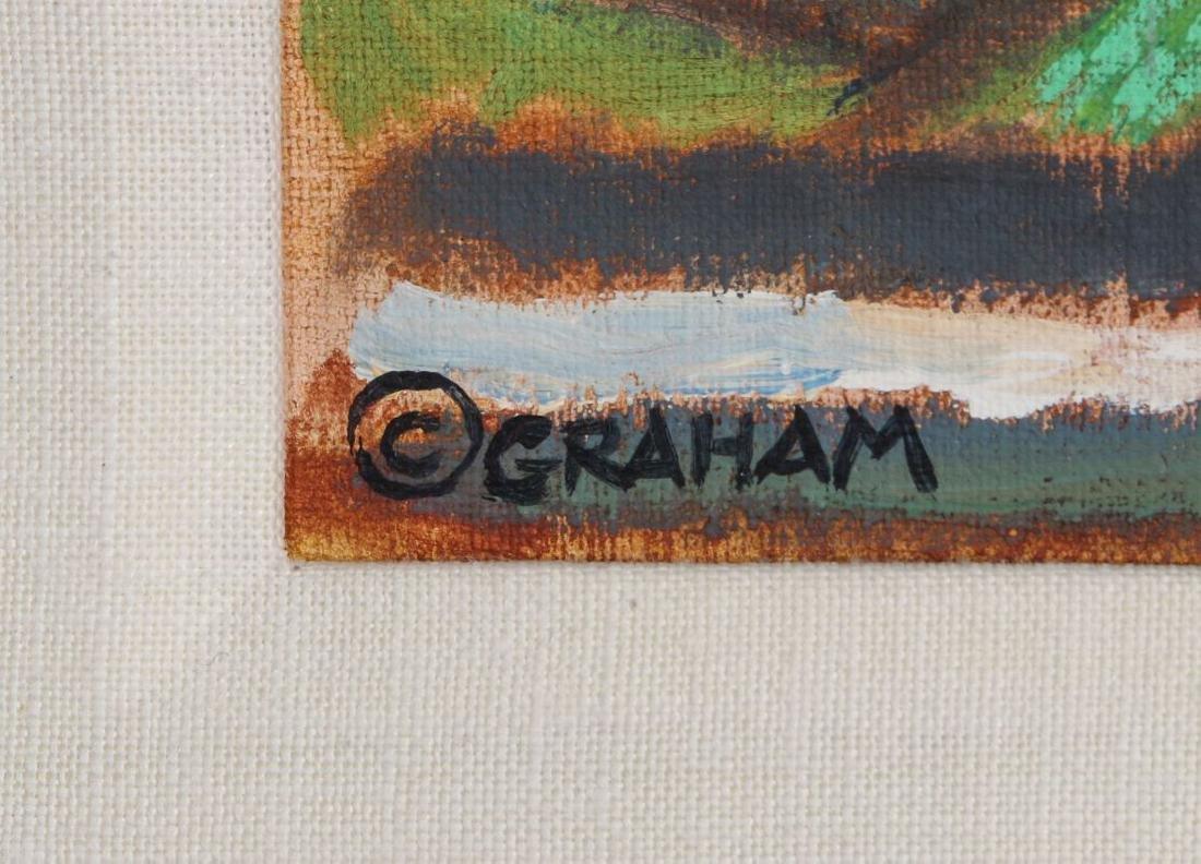 ROBERT MCDONALD GRAHAM (1919 - 2000) ACRYLIC - 6
