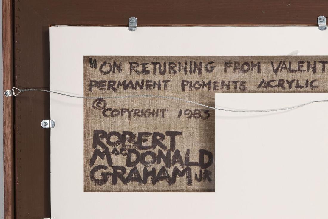 ROBERT MCDONALD GRAHAM (1919 - 2000) ACRYLIC - 8