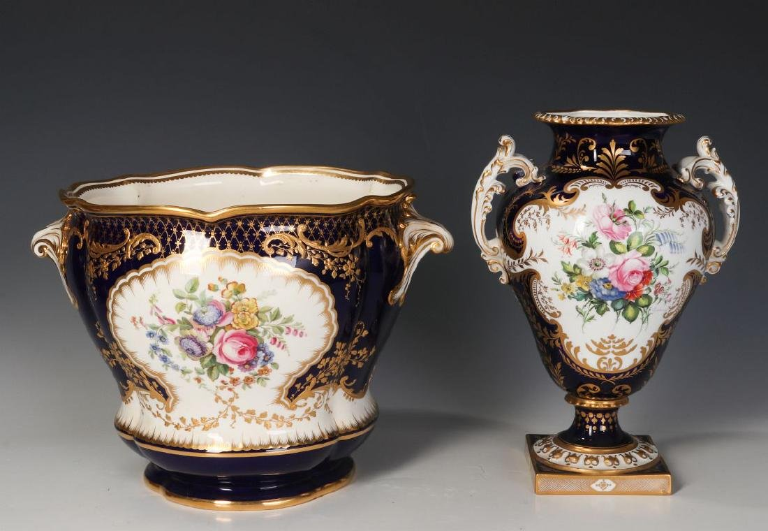 ROYAL CROWN DERBY AND OTHER ENGLISH PORCELAIN