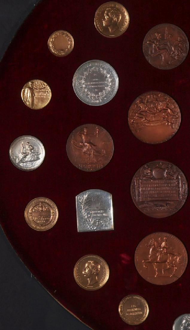 COLLECTION OF REPLICA VINTNER'S EXPOSITION MEDALS - 3