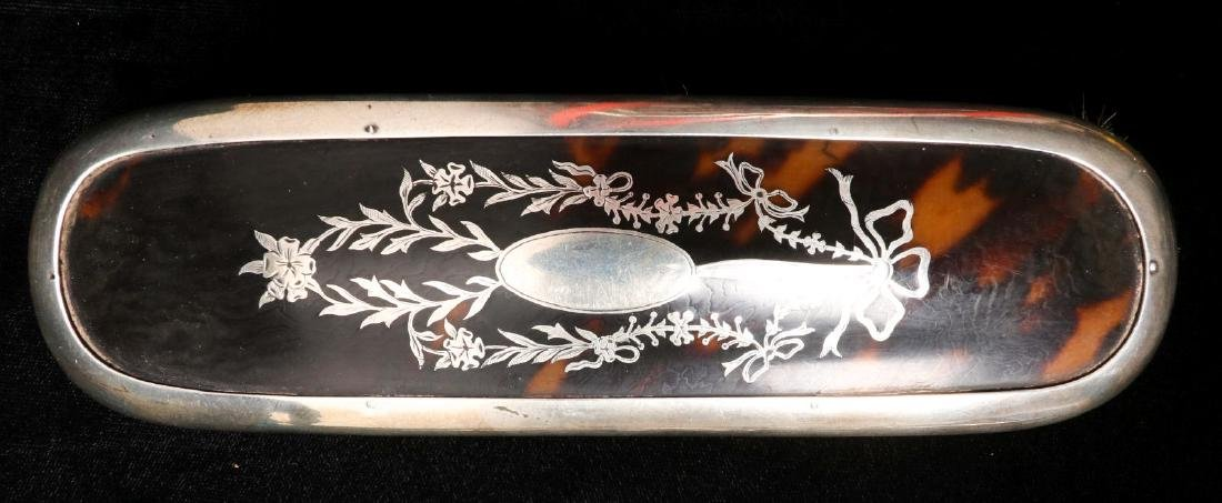A LONDON STERLING SILVER DRESSER SET DATED 1913 - 2