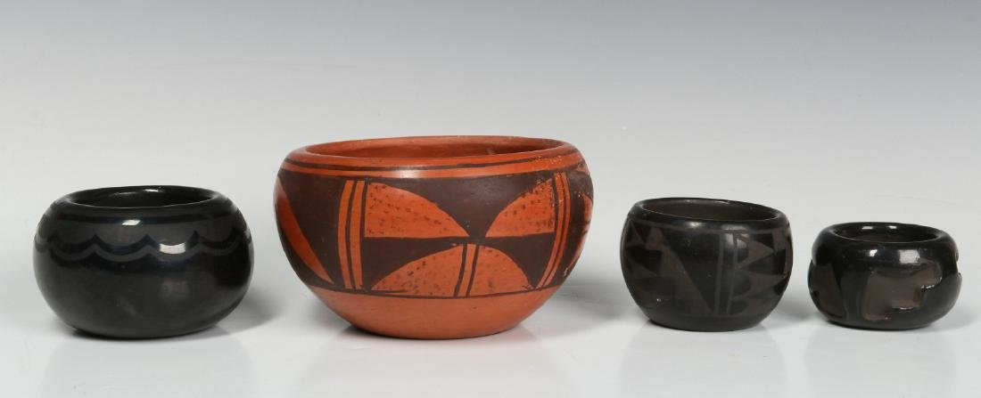 BLUE CORN AND OTHER NATIVE AMERICAN POTTERY