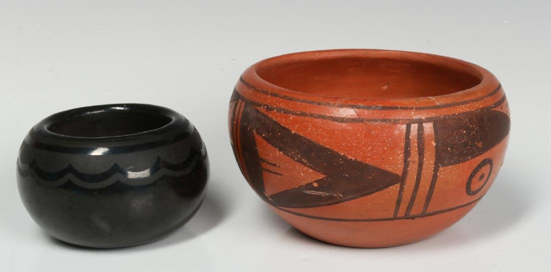 BLUE CORN AND OTHER NATIVE AMERICAN POTTERY - 2
