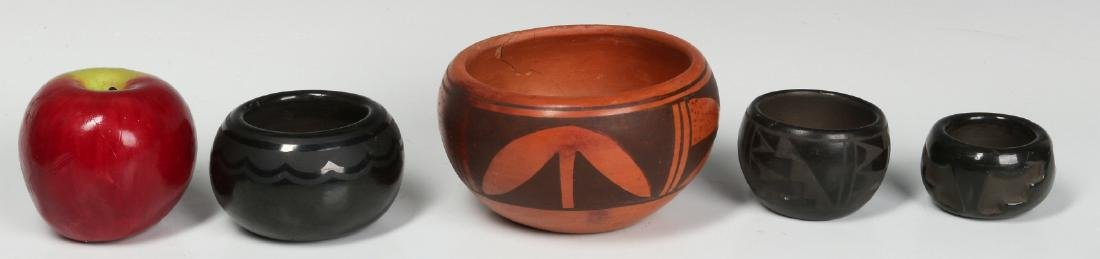 BLUE CORN AND OTHER NATIVE AMERICAN POTTERY - 5