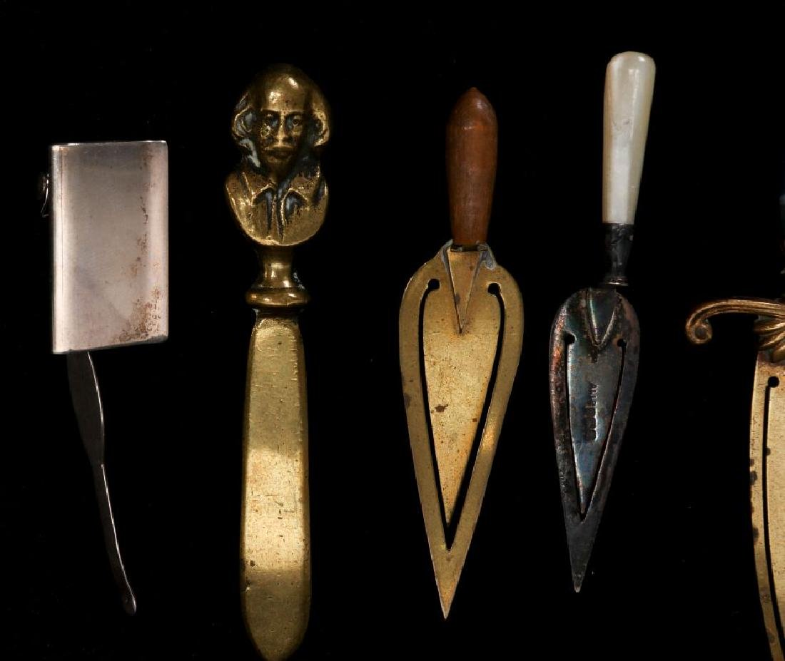 A COLLECTION OF ANTIQUE BOOK MARKS - 2