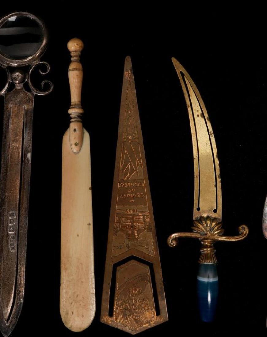A COLLECTION OF ANTIQUE BOOK MARKS - 3