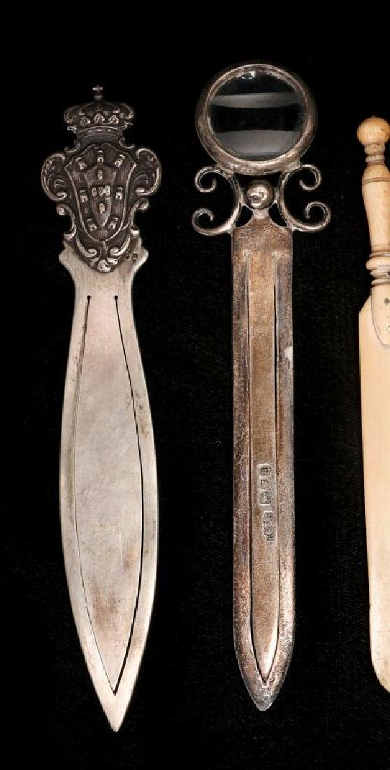 A COLLECTION OF ANTIQUE BOOK MARKS - 4