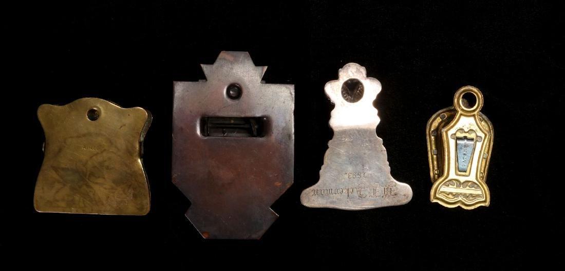 A COLLECTION OF ANTIQUE BILL CLIPS CIRCA 1900 - 2