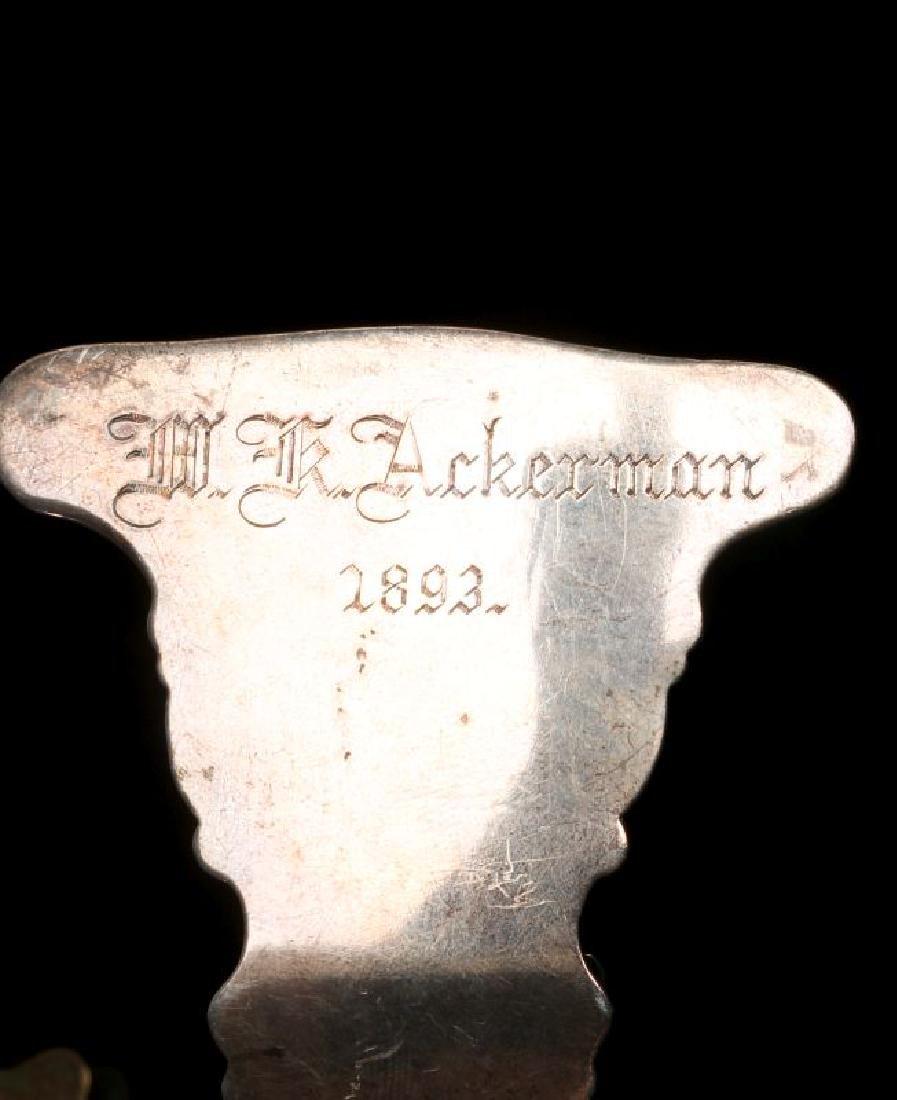 A COLLECTION OF ANTIQUE BILL CLIPS CIRCA 1900 - 5