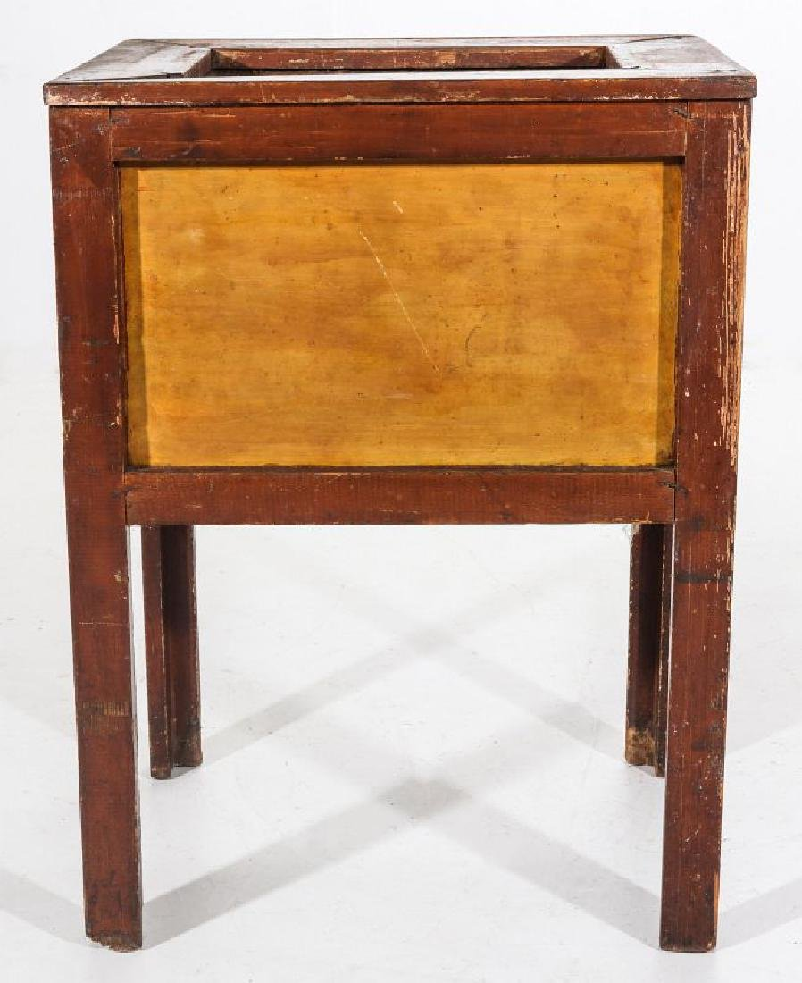 AN EARLY 20TH C AMERICAN COUNTRY STORE POP COOLER - 9