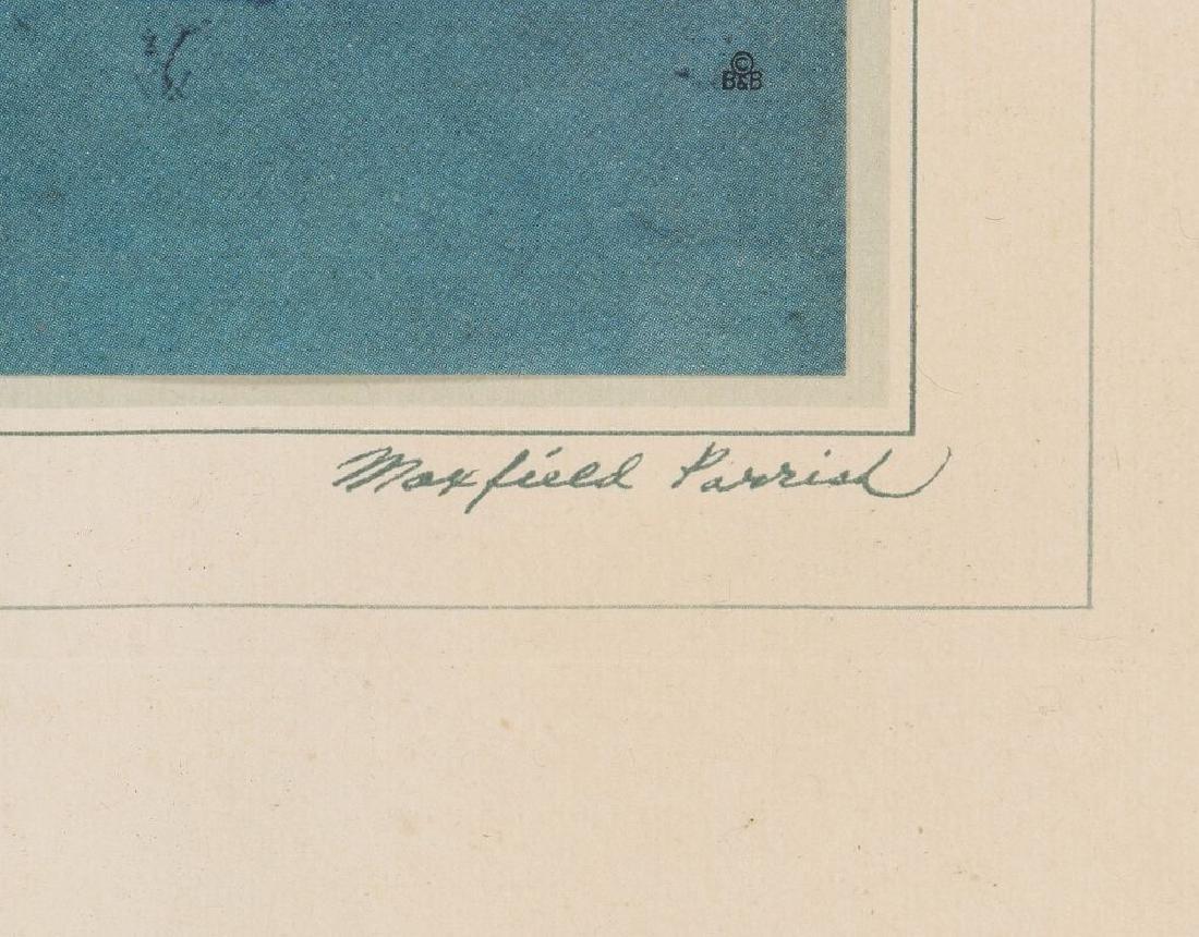 TWO ORIGINAL MAXFIELD PARRISH PRINTS - 6