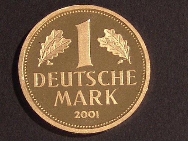 4: GERMAN MARK GOLD COMMEMORATIVE COIN