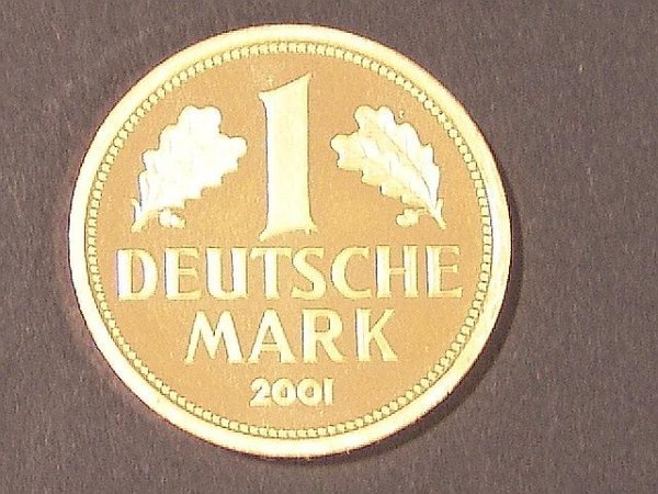 7: GERMAN MARK GOLD COMMEMORATIVE COIN