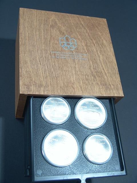 15: COMPLETE SET OF 1976 CANADA OLYMPIC SILVER COINS