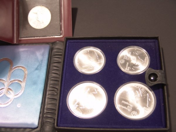 16: AUSTRIA 1964 AND CANADA 1976 OLYMPIC COINS