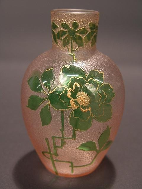390: FRENCH CAMEO GLASS VASE