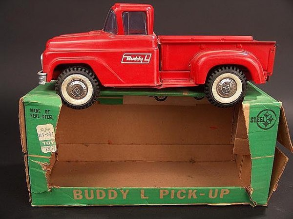 1000: 1960'S BUDDY L FORD PICK-UP TRUCK IN ORIGINAL BOX