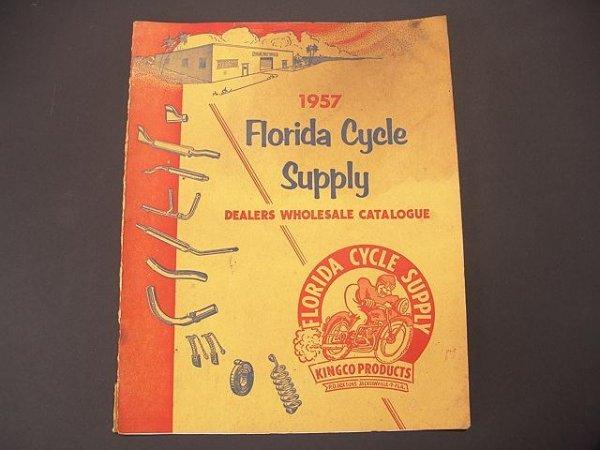1336: 1957 FLORIDA MOTORCYCLE SUPPLY CATALOG