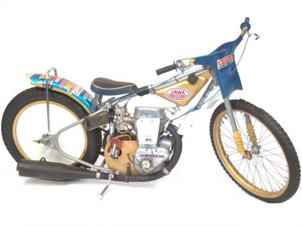 1345A: JAWA 1970'S SPEEDWAY RACER MOTORCYCLE