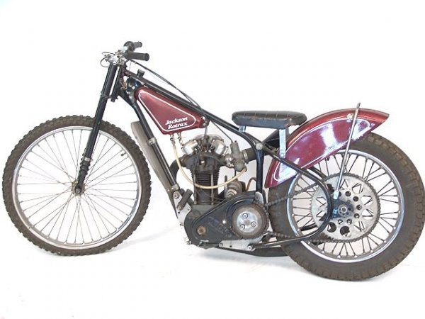 1380A: JACKSON ROTRAX JAP SPEEDWAY RACING MOTORCYCLE