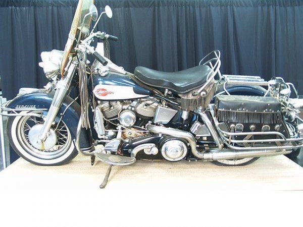 1495A: 1959 HARLEY DAVIDSON FLH DUO-GLIDE   MOTORCYCLE