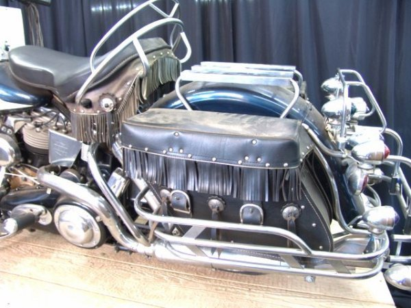 1495A: 1959 HARLEY DAVIDSON FLH DUO-GLIDE   MOTORCYCLE - 3