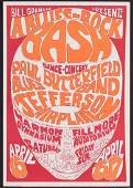 A PSYCHEDELIC JEFFERSON AIRPLANE CONCERT POSTER