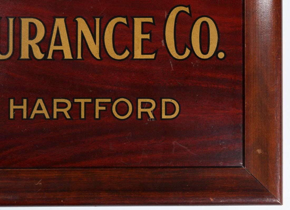 ORIENT INSURANCE CO. TIN ADVERTISING SIGN - 5