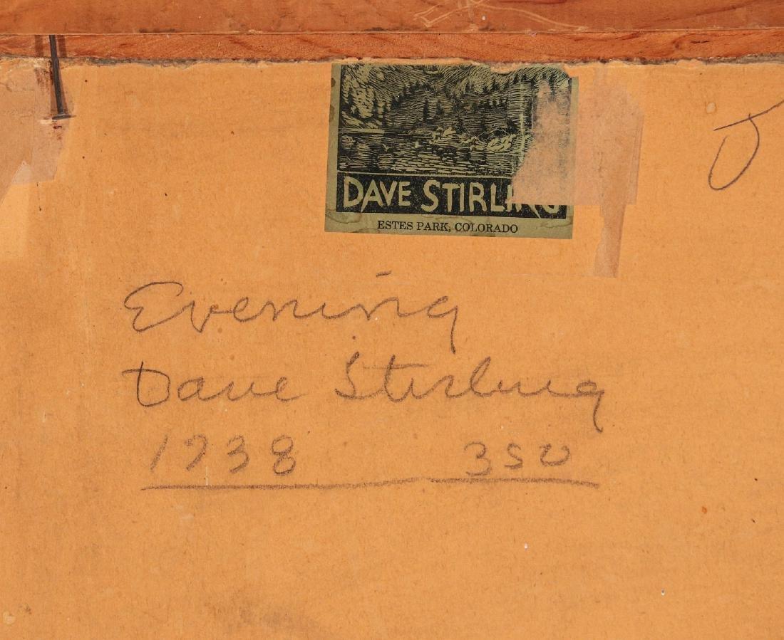 DAVID STIRLING (1887-1971) OIL ON ARTIST'S BOARD - 10